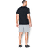 Under Armour Men's Jacquard Tech Short Sleeve T-Shirt - Black/Stealth Grey: Image 5