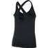 Under Armour Women's HeatGear CoolSwitch Short Sleeve Tank - Black: Image 2
