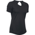 Under Armour Women's HeatGear CoolSwitch Short Sleeve T-Shirt - Black: Image 1
