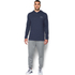 Under Armour Men's Triblend Pullover Hoody - Amidnight Navy: Image 3