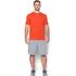 Under Armour Men's Sportstyle Left Chest Logo T-Shirt - Dark Orange/Nova Teal: Image 3