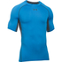 Under Armour Men's Armour HeatGear Short Sleeve Training T-Shirt - Brilliant Blue/Stealth Grey: Image 1