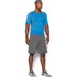 Under Armour Men's Armour HeatGear Short Sleeve Training T-Shirt - Brilliant Blue/Stealth Grey: Image 4