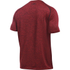 Under Armour Men's Tech Short Sleeve T-Shirt - Red/Black: Image 2