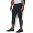 Under Armour Men's HeatGear SuperVent 3/4 Leggings - Black/Stealth Grey: Image 3
