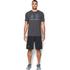 Under Armour Men's Sportstyle Logo T-Shirt - Black/Steel/Stealth Grey: Image 3