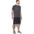 Under Armour Men's Sportstyle Logo T-Shirt - Black/Steel/Stealth Grey: Image 4