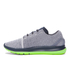Under Armour Men's SpeedForm Slingride Running Shoes - Glacier Gray/Hyper Green: Image 2