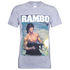 Rambo Men's Gun T-Shirt - Grey: Image 1