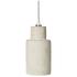 Broste Copenhagen Navara Concrete Ceiling Lamp: Image 1