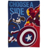 Captain America: Civil War Polar Fleece Blanket - 100 x 150cm: Image 1