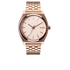 Nixon The Time Teller Watch - Rose Gold: Image 1