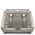 De'Longhi Elements Four Slice Toaster - Beige: Image 1