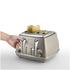 De'Longhi Elements Four Slice Toaster - Beige: Image 2