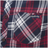 Tokyo Laundry Men's Carlsson Flannel Long Sleeve Shirt - Deep Red: Image 3