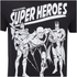 DC Comics Men's Original Superheroes T-Shirt - Black: Image 5