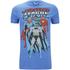 DC Comics Men's Justice League T-Shirt - Heather Royal: Image 1