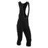 Nalini Classica Warm 3/4 Bibs Tights - Black/Grey: Image 1