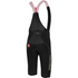 Castelli Omloop Thermal Bib Shorts - Black/Yellow Fluro: Image 2