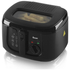 Swan SD6080BLKN 2.5L Square Fryer - Black: Image 1