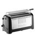 Dualit 46025 Lite 4 Slice Long Slot Toaster - Metallic Black: Image 2