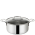 Jamie Oliver by Tefal Stainless Steel Stockpot - 24cm: Image 1
