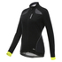 Santini Women's Coral Windstopper Jacket - Yellow: Image 1