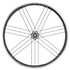 Campagnolo Zonda C17 Clincher Wheelset - Black: Image 1