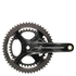 Campagnolo Chorus 11 Speed Ultra Torque Carbon Compact Chainset - Black: Image 1
