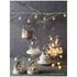 Parlane Winter LED Glass Jar - White (14cm): Image 2