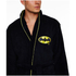 DC Comics Men's Batman Fleece Robe - Black: Image 3