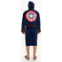 Marvel Men's Captain America: Civil War Outfit Robe - Navy: Image 2