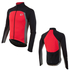 Pearl Izumi Pro Pursuit Thermal Jersey - Black/True Red: Image 1