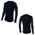 Pearl Izumi Transfer Wool Long Sleeve Baselayer - Black: Image 1