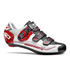 Sidi Genius 7 Cycling Shoes - White/Black/Red: Image 1