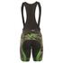Alé PRR Roubaix Camo Bib Shorts - Black/Green: Image 2