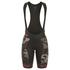 Alé Women's PRR Roubaix Camo Bib Shorts - Black/Red: Image 1