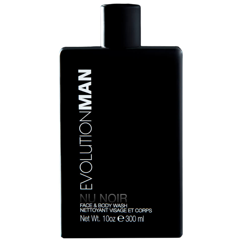 EvolutionMan Nu Noir Face and Body Wash