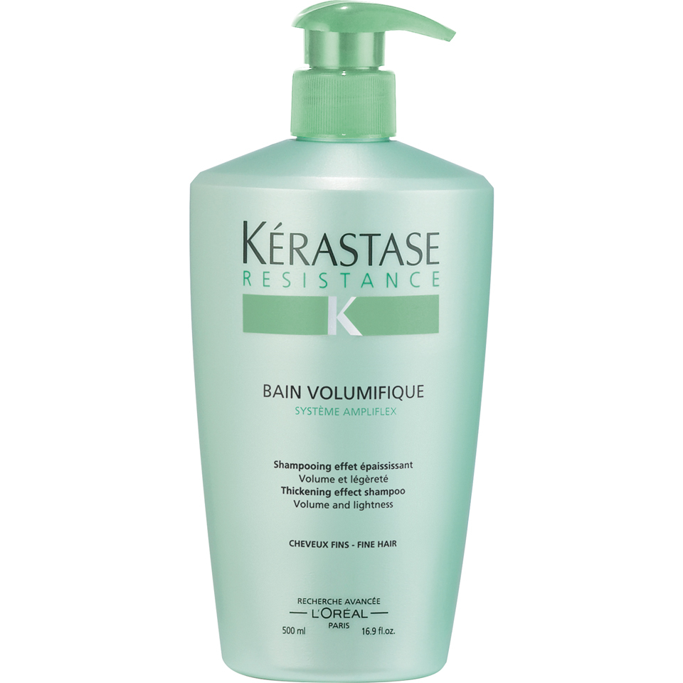 K rastase resistance bain volumifique shampoo 500ml for Kerastase bain miroir conditioner