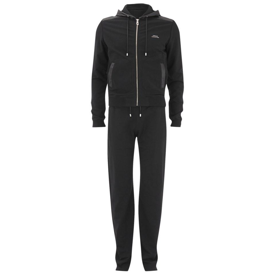 Versace Men's Fleece Tracksuit - Black