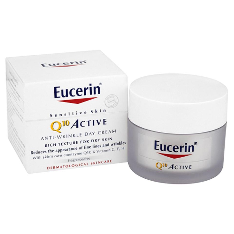 Eucerin 174 Sensitive Skin Q10 Active Anti Wrinkle Day Cream