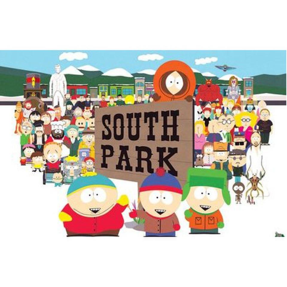 смотреть онлайн south park