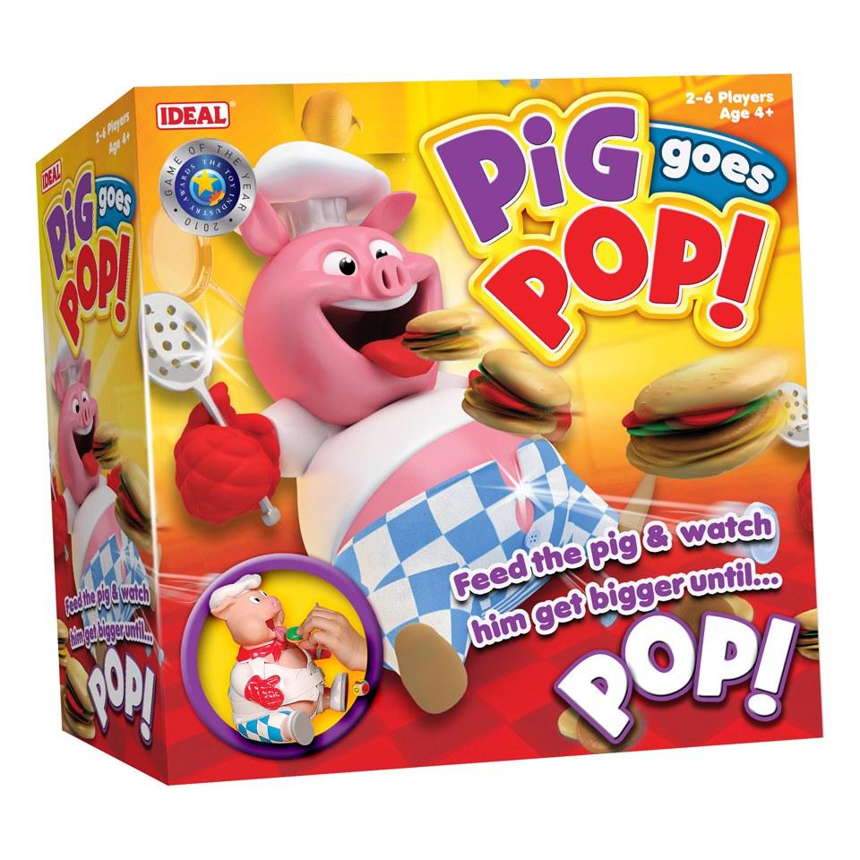 John Adams Pig Goes Pop Game Toys | Zavvi