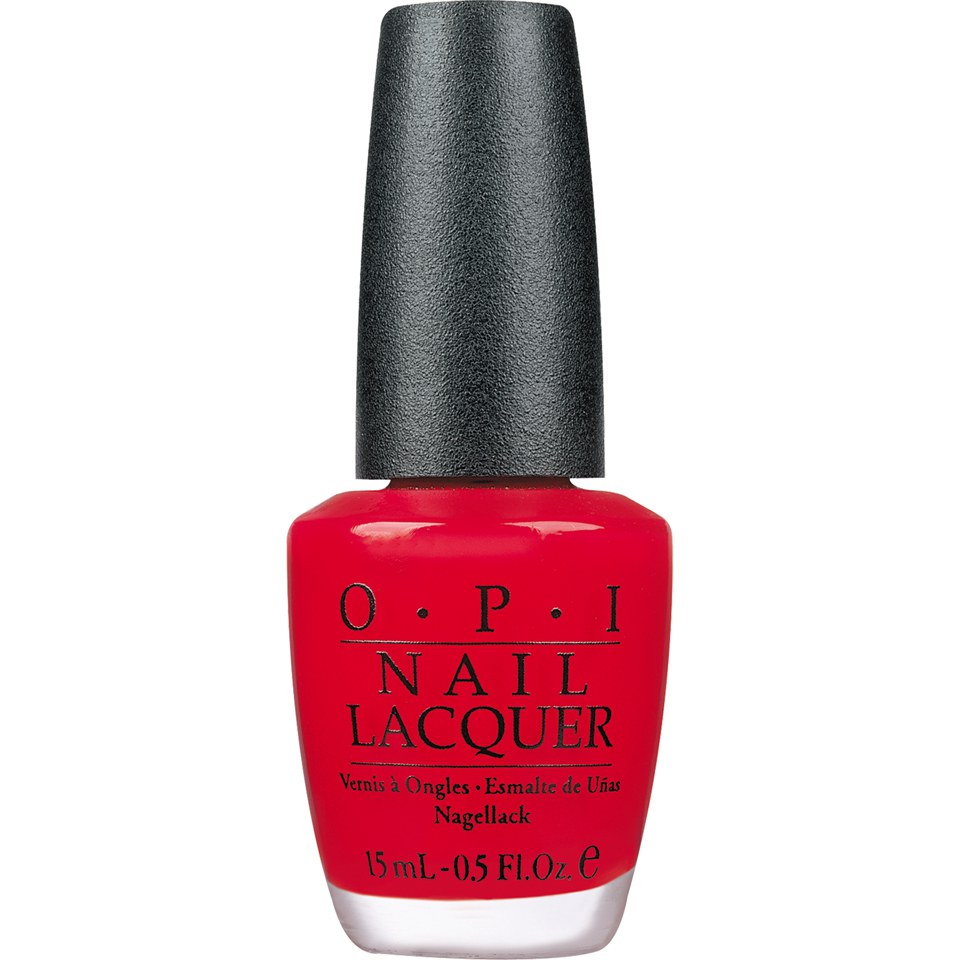 Classic Nail Color: OPI Classic Nail Lacquer
