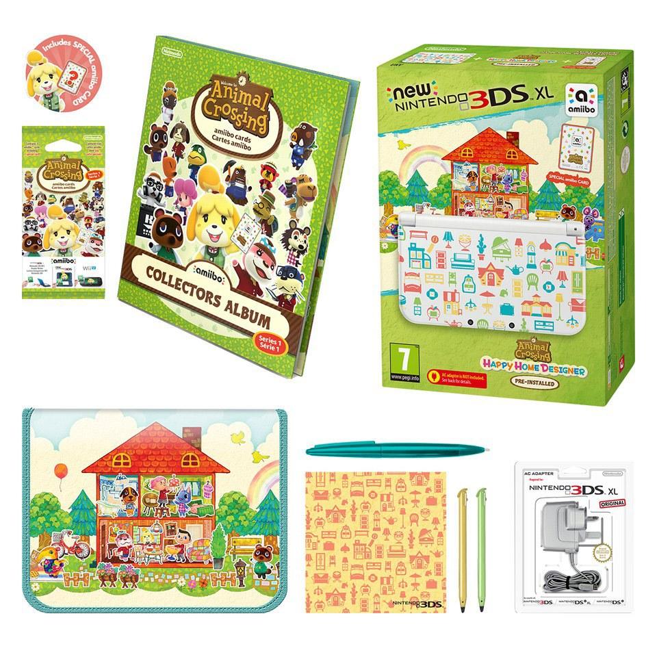 New nintendo 3ds xl animal crossing happy home designer - Animal crossing happy home designer bundle ...