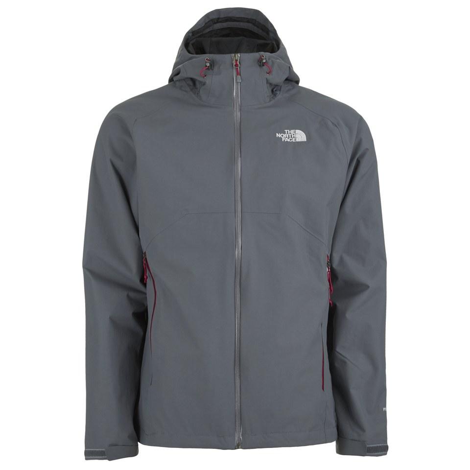 the north face men 39 s stratos hyvent hooded jacket vanadis grey clothing. Black Bedroom Furniture Sets. Home Design Ideas