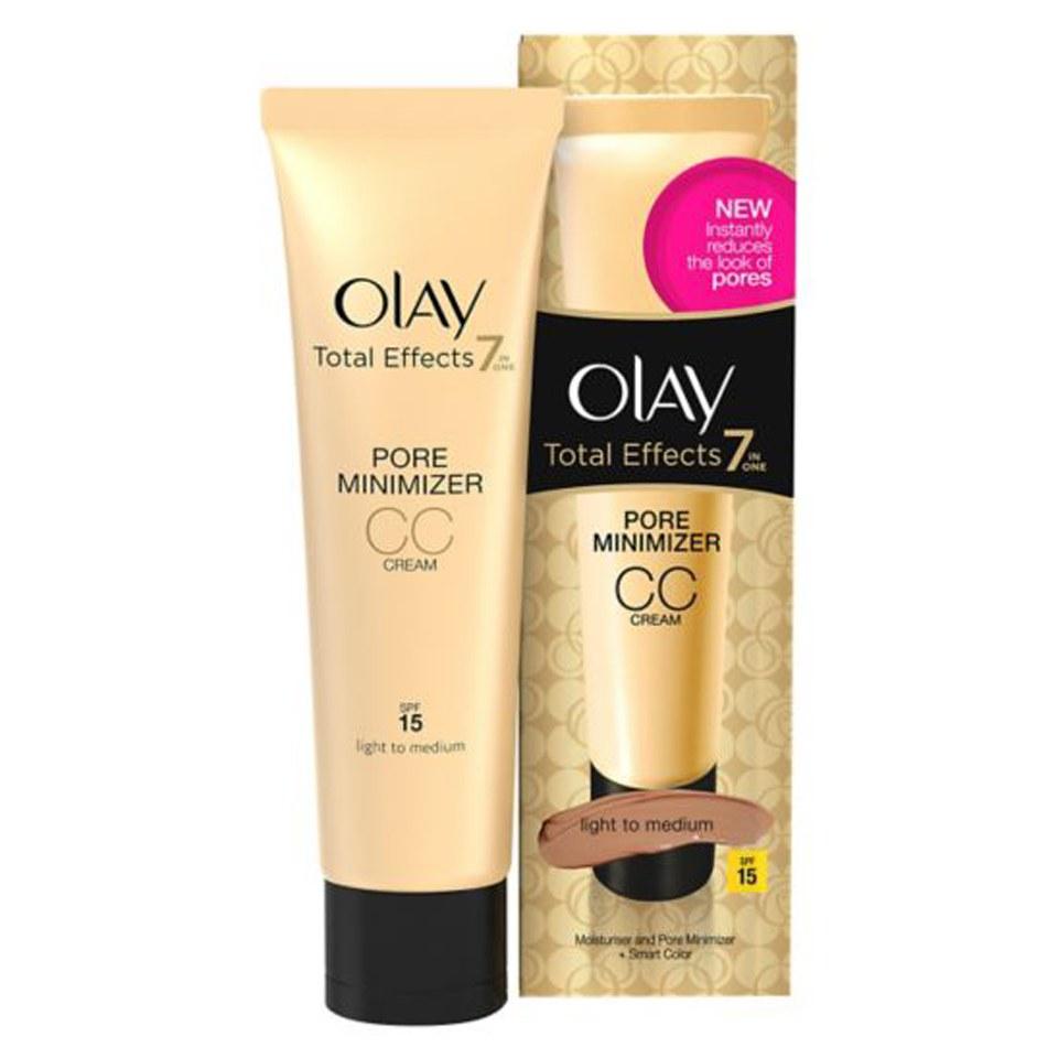 Olay Total Effects Pore Minimiser Cc Cream Light Medium