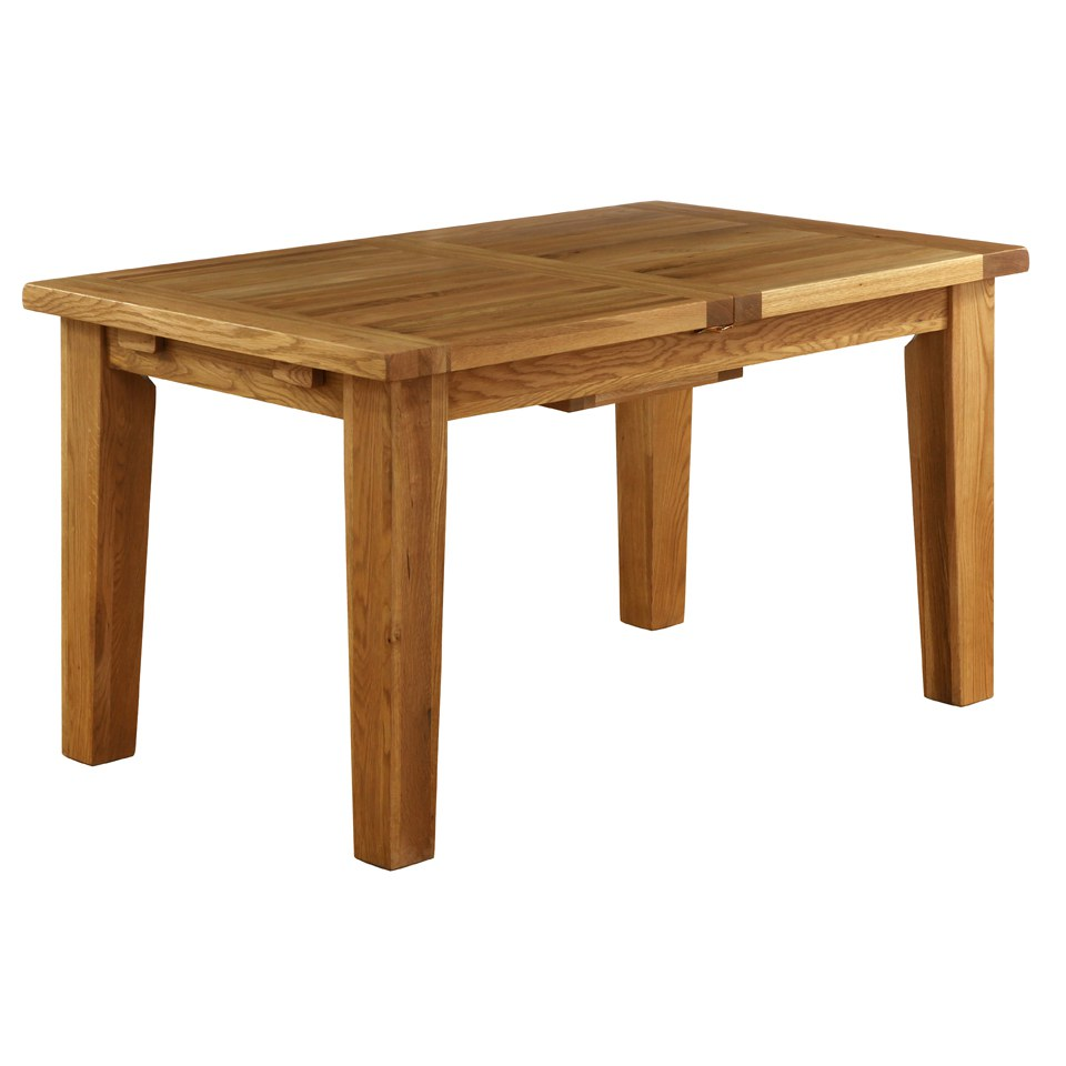 vancouver oak nb005 extension dining table 1800mm iwoot. Black Bedroom Furniture Sets. Home Design Ideas
