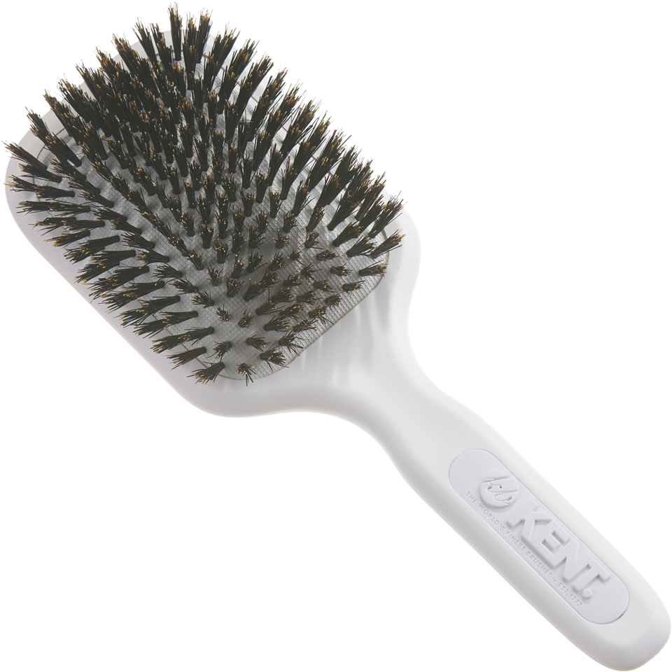 Kent Ah13w Airheadz Medium Pure Bristle Paddle Hair Brush