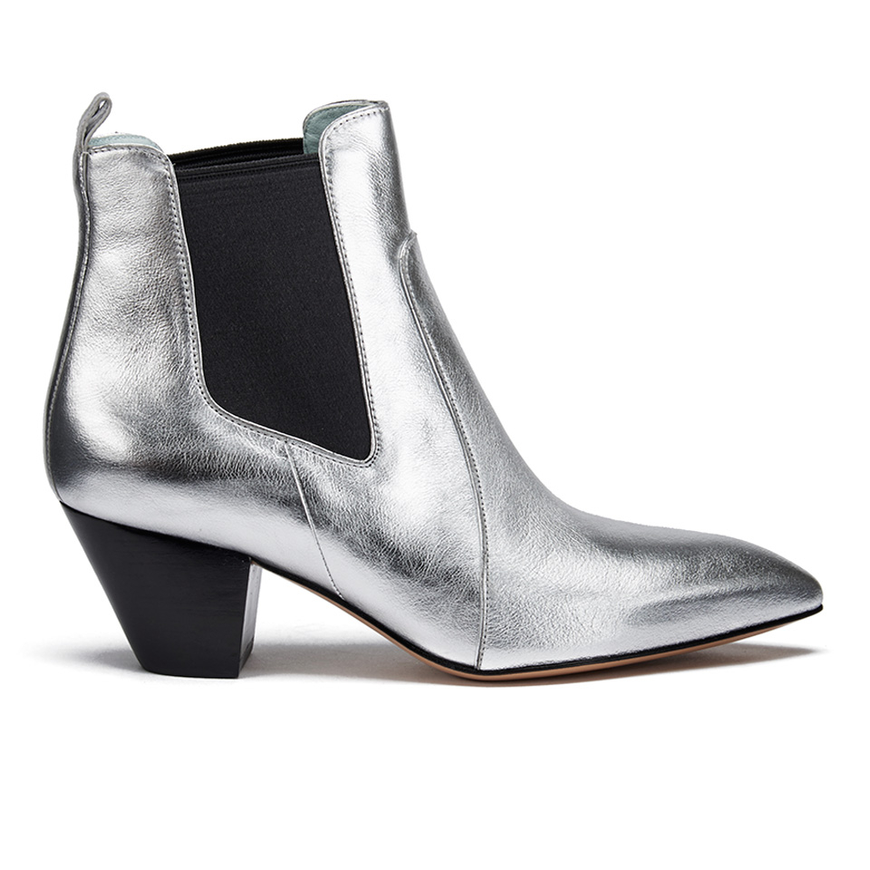 Marc Jacobs Women S Kim Metallic Leather Heeled Chelsea